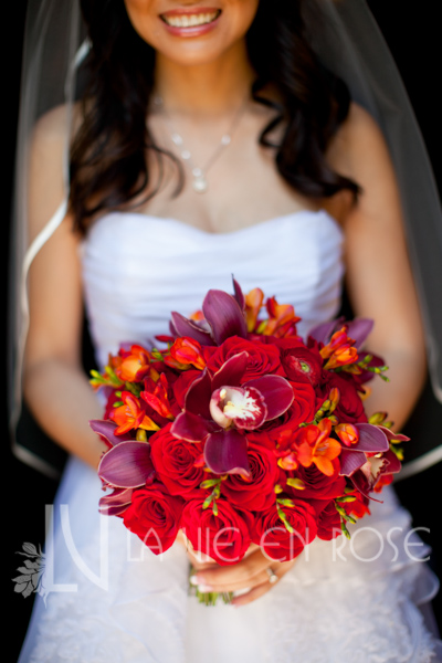 la-vie-en-rose-bridal-bouquet-red-cymbidium-orchid-mokara-orchid-freesia-ranunculus-tulip-mini-calla-vinoy-renaissance-saint-petersburg-resort-and-golf-club-florida