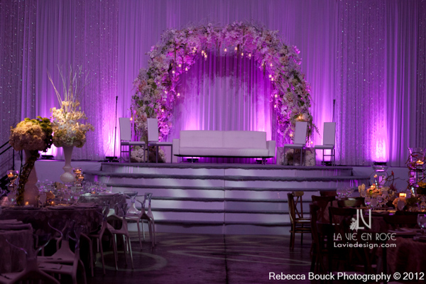 la-vie-en-rose-special-event-jouney-to-love-stage-white-lounge-furniture-reception-purple-up-light-tampa-florida