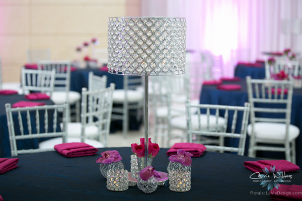la-vie-en-rose-pink-fuschia-reception-navy-furniture-crystal-peonies-lamps-wedding-st.pete-florida-museum-of-fine-arts