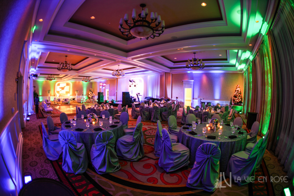 la-vie-en-rose-green-purple-lighting-corporate-party-sandpearl-resort-clearwater-florida-