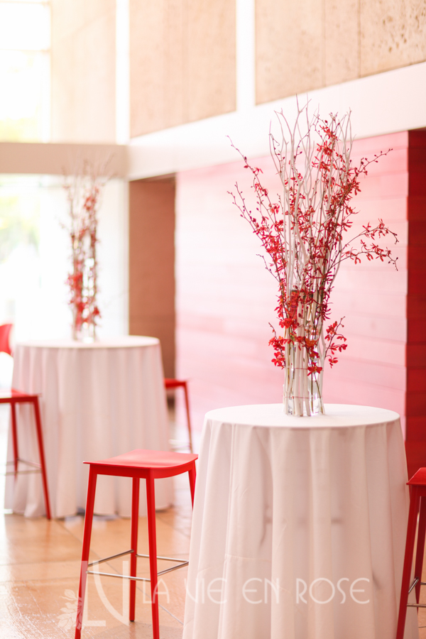 la-vie-en-rose-white-branches-red-orchids-centerpiece-cube-rivergate-tower-downtown-tampa-florida