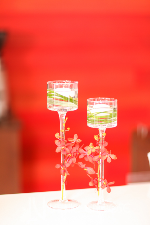 la-vie-en-rose-floating-candle-red-orchids-centerpiece-cube-rivergate-tower-downtown-tampa-florida