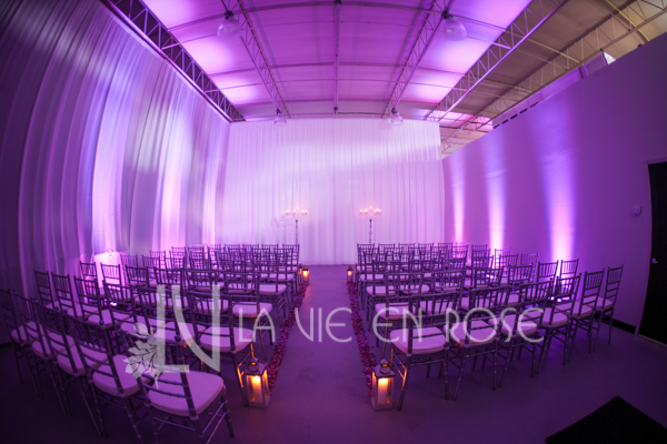 la-vie-en-rose-ceremony-lanterns-crystal-candelabra-silver-chiavari-chairs-wedding-purple-venue-tampa-florida