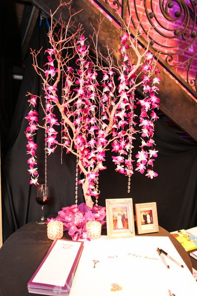 la-vie-en-rose-card-table-tree-branch-swarovski-crystal-backdrop-nova-353-st.pete-florida