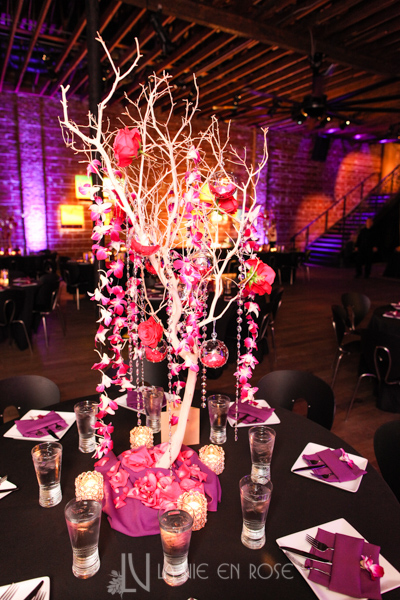 la-vie-en-rose-guest-table-tree-branch-swarovski-crystal-strands-hanging-globes-LED-light-nova-353-st.pete-florida