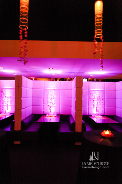 la-vie-en-rose-fuchsia-uplighting-LED-booth-trees-suite-passes-grill-one-sixteen-tampa-florida