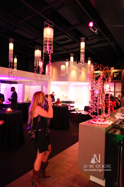 la-vie-en-rose-fuchsia-orchids-uplighting-tree-swarovski-crystals-glass-globes-LED-garland-pendant-light-suite-passes-grill-one-sixteen-tampa-florida