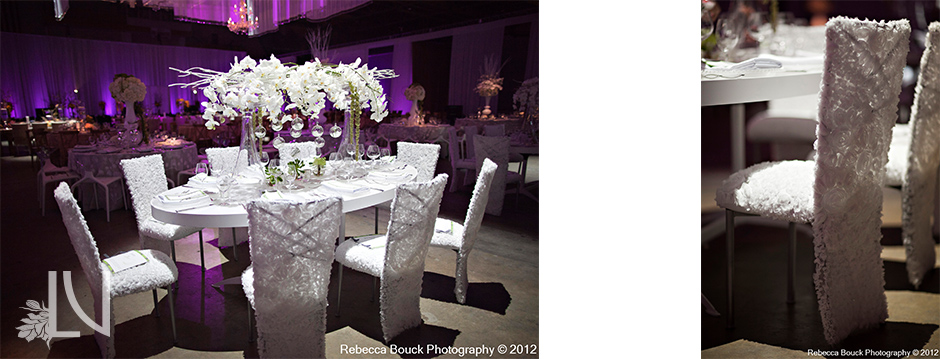 La Vie En Rose Design Arrangement White Orchid Flower Centerpiece Light Tse The Special Event Wedding Dinner Tampa