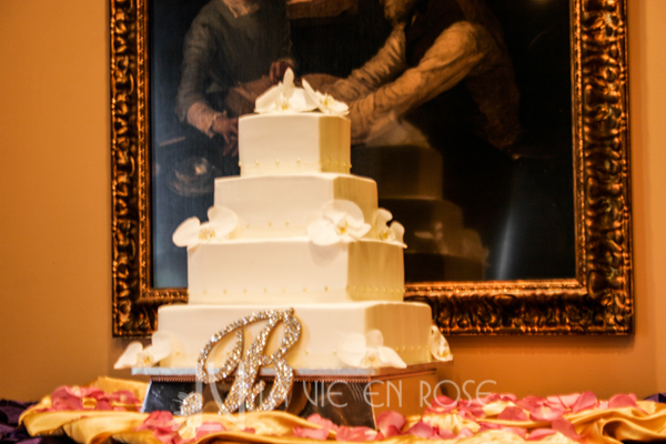 la-vie-en-rose-wedding-reception-cake-table-grand-bohemina-hotel-orlando-florida