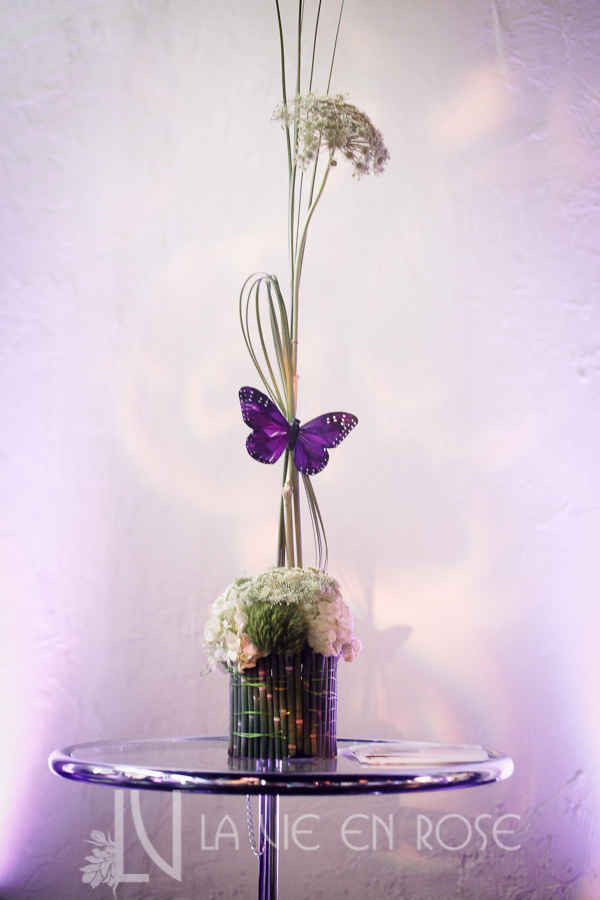 la-vie-en-rose-knot-wedding-mixer-white-purple-butterfly-plant-centerpiece-1930-grand-room-tampa-florida