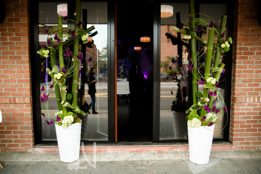 la-vie-en-rose-knot-wedding-mixer-white-enterance-plant-purple-butterfly-1930-grand-room-tampa-florida