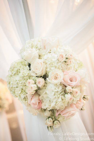 la-vie-en-rose-floral-arrangment-wedding-drape-ceremony-chuppah-crystal-chandelier-atrium-blush-pink-white-ivory-intercontinental-tampa-florida