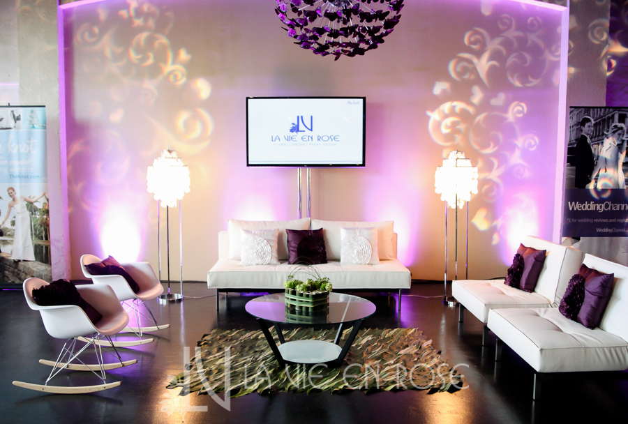 la-vie-en-rose-knot-wedding-mixer-white-lounge-furniture-marshmallow-chair-shell-lamps-woven-leaf-rug-purple-throw-pillows-1930-grand-room-tampa-florida