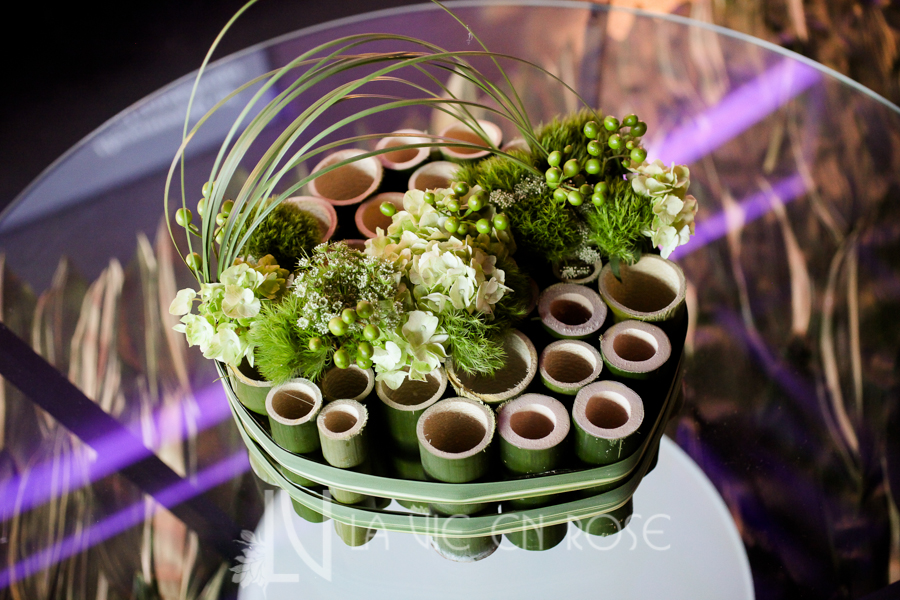 la-vie-en-rose-knot-wedding-mixer-centerpiece-bamboo-grass-1930-grand-room-tampa-florida