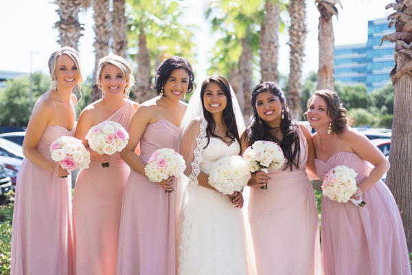 la-vie-en-rose-wedding-bridesmaids-bride-bouquet-party-carillon-hilton-hotel-st-petersburg-florida