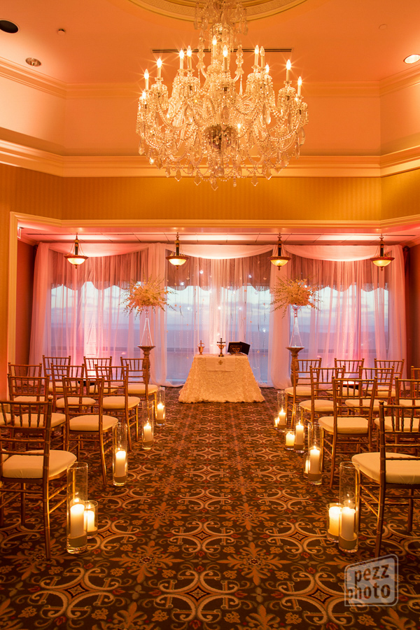 la-vie-en-rose-wedding-ceremony-tall-orchid-arrangements-view-drapes-lighting-candles-chiavari-chairs-bride-groom-black-and-white-romantic-love-happily-ever-after-the-tampa-club