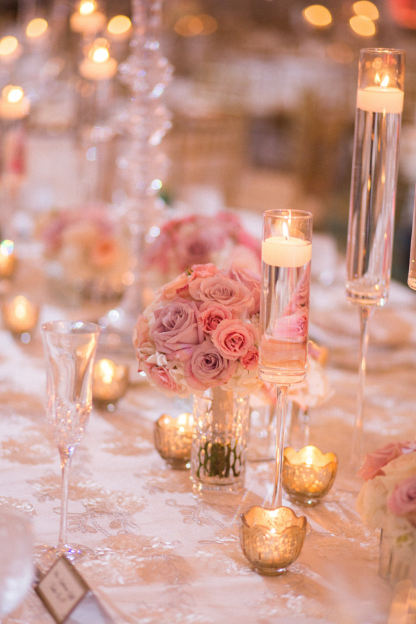 la-vie-en-rose-tampa-bay-saint-petersburg-wedding-hotel-reception-church-ceremony-candles-decor-floral-arrangements-table-specialty-linens-dupioni-centerpieces-tall-low-crystal-candelabra-wedding-party-roses-hydrangeas-spray-roses-peonies-garden-rose-pink-tones-blush-eucalyptus-romantic-elegant-the-vinoy