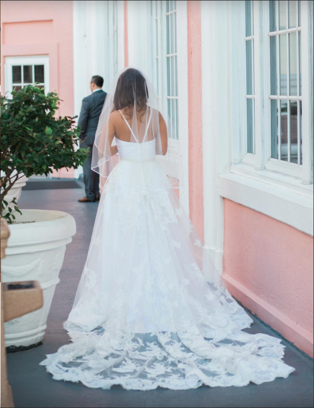 La-vie-en-rose-st-pete-florida-wedding-white-ivory-dress-elegant-don-cesar