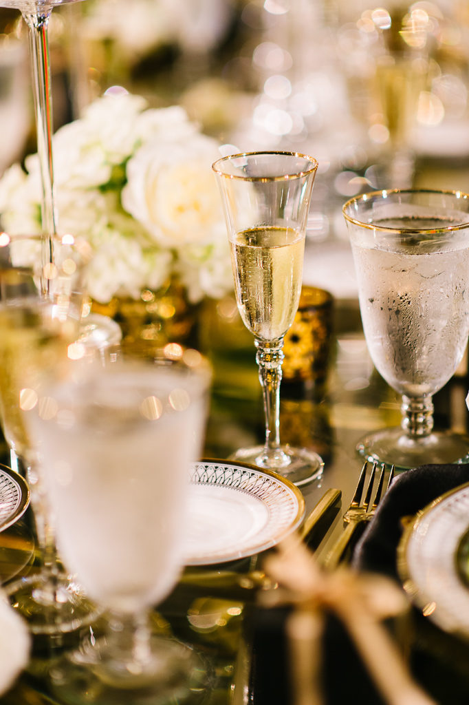 La-vie-en-rose-sarasota-florida-wedding-white-reception-gold-flower-elegant-ringling-museum